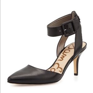 Sam Edelman Okala Leather Ankle Wrap Heels